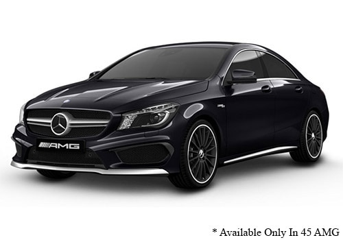 Mercedes-Benz CLA Night Black Color