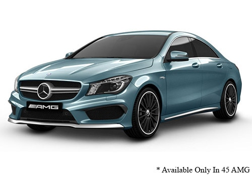 Mercedes-Benz CLA Universe Blue Color