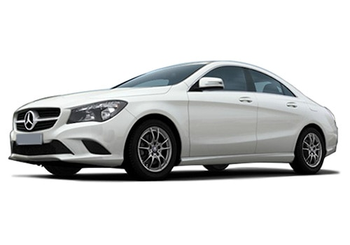 Mercedes-Benz CLA Cirrus White Color
