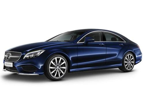 Mercedes-Benz CLS Cavansite Blue Color