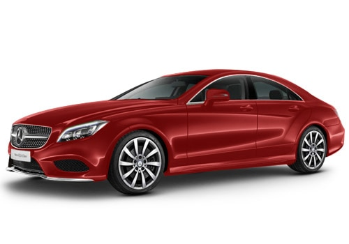 Mercedes-Benz CLSDesigno Hyacinth Red Metallic Color