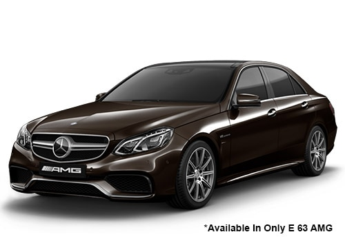 Mercedes-Benz E-Class Dolomite Brown 63 AMG Variant Color