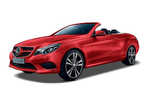 Mercedes-Benz E-ClassFire Opal Red with Black  Color