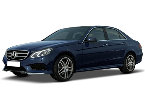 Mercedes-Benz E-Class Cavansite Blue Metallic Color