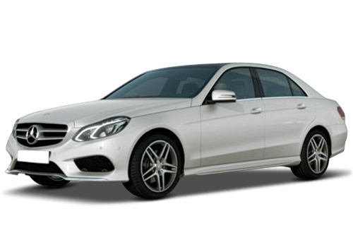 Mercedes-Benz E-Class Diamond White Color