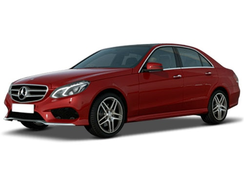 Mercedes-Benz E-Class Hyacinth Red metallic Color