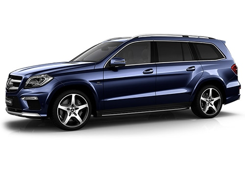 Mercedes-Benz GL-Class Cavansite Blue Color