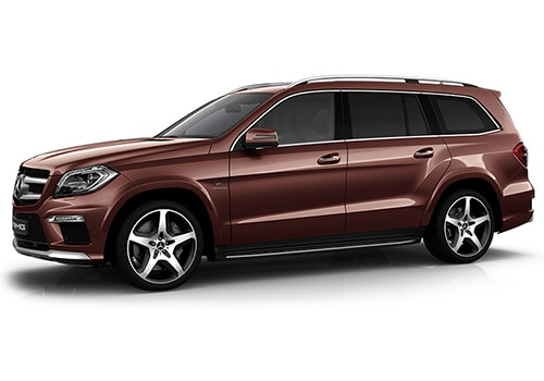Mercedes-Benz GL-ClassCinnabarite Red Metallic Color