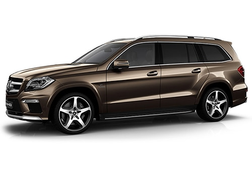 Mercedes-Benz GL-Class Citrine Brown Color
