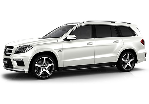 Mercedes-Benz GL-Class Diamond White Color