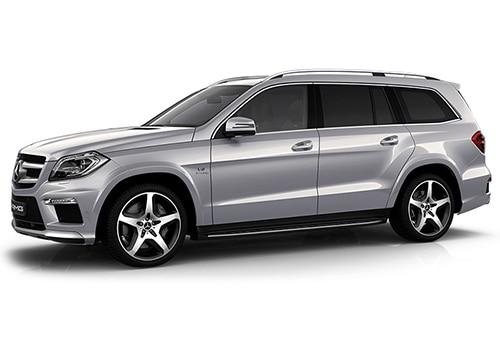 Mercedes-Benz GL-Class Iridium Silver Color
