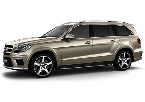 Mercedes-Benz GL-Class Pearl Beige Metallic Color