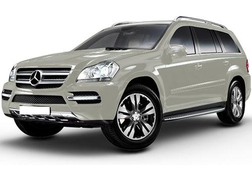 Mercedes-Benz GL-Class Polar White Color