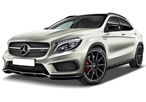 Mercedes-Benz GLA 45 AMGCirrus White Color