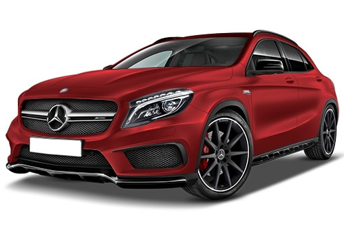 Mercedes-Benz GLA 45 AMGJupiter Red Color