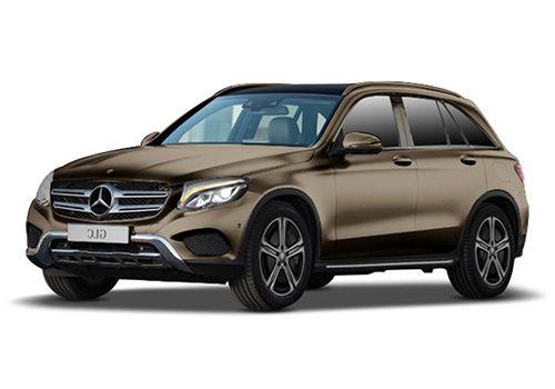 Mercedes-Benz GLC Citrine Brown Color