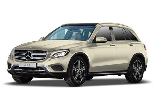 Mercedes-Benz GLC Diamond White Bright Color