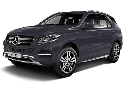 Mercedes-Benz GLE Cavansite Blue Color