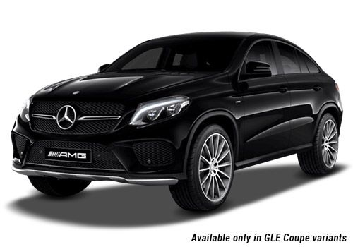 Mercedes-Benz GLE Black GLE Coupe Variant Color