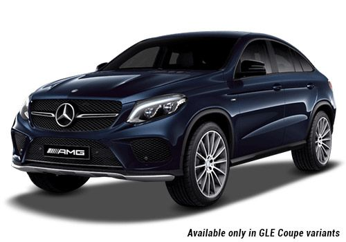 Mercedes-Benz GLE Cavansite Blue metallic GLE Coupe Variant Color
