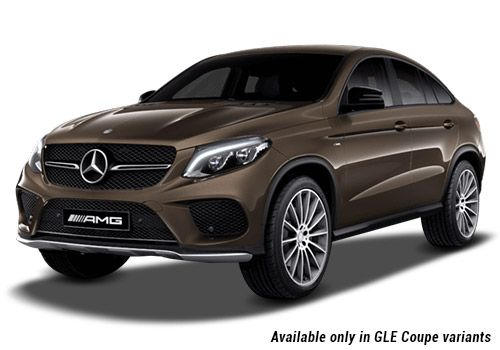 Mercedes-Benz GLE Citrine Brown metallic GLE Coupe Variant Color
