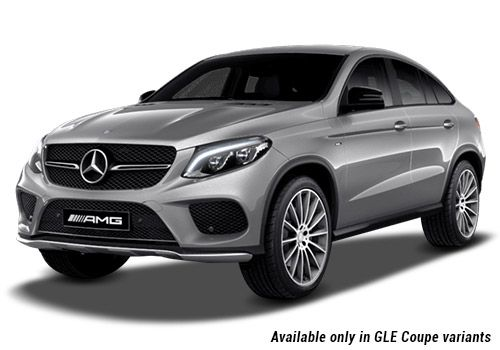 Mercedes-Benz GLE Palladium Silver metallic GLE Coupe Variant Color