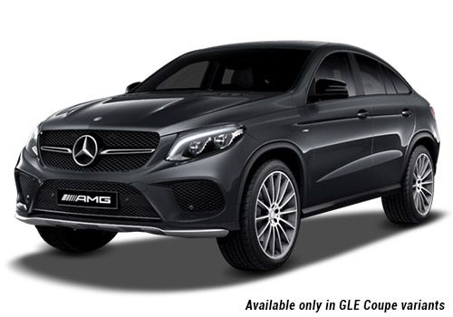 Mercedes-Benz GLE Tenorite Grey metallic GLE Coupe Variant Color