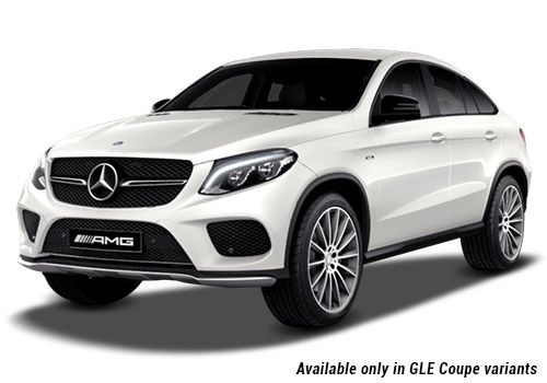 Mercedes-Benz GLE Designo Diamond White GLE Coupe Variant Color