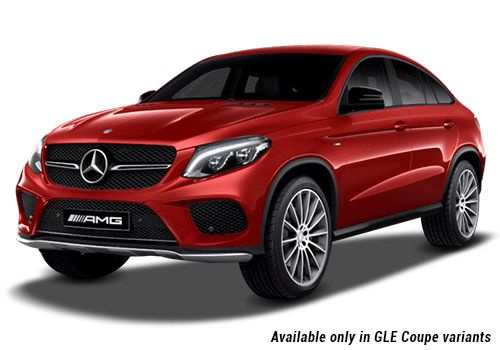 Mercedes-Benz GLE Designo Hyacinth Red GLE Coupe Variant Color