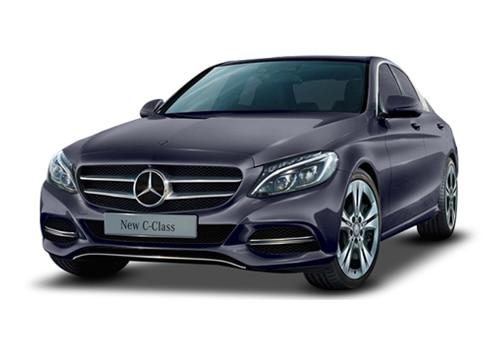 Mercedes-Benz C-Class Cavansite Blue Color