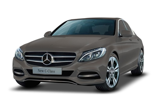 Mercedes-Benz C-Class Citrine Brown Color