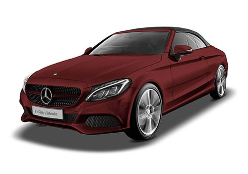 Mercedes-Benz C-ClassDesigno Hyacinth Red Metallic Color