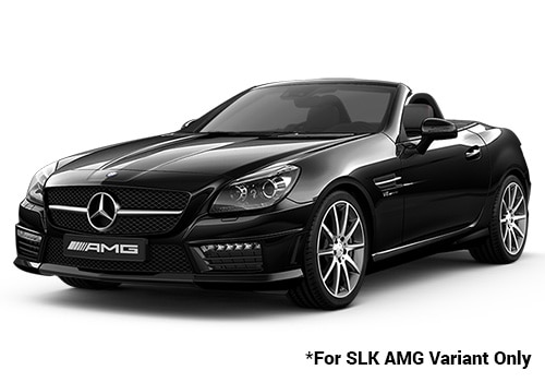 Mercedes Benz Slk Class Obsidian Black Metallic 55 Amg Color