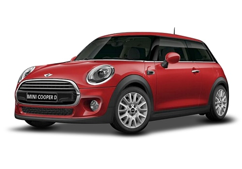 Mini 3 DOOR Blazing Red Color
