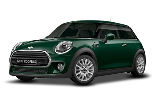 Mini 3 DOOR British Racing Green Color