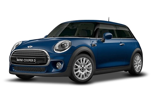 Mini 3 DOOR Deep Blue Metallic Color