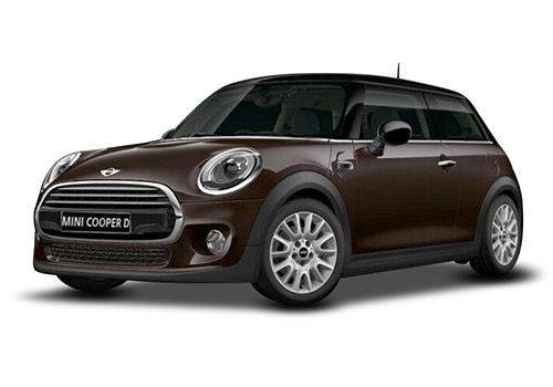 Mini 3 DOOR Iced Chocolate Metallic Color
