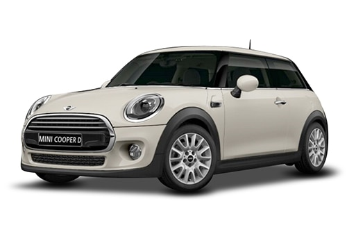 Mini 3 DOOR Pepper White Color