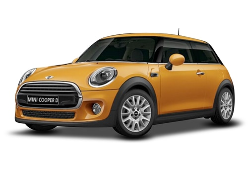 Mini 3 DOOR Volcanic Orange Color
