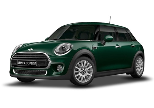 Mini 5 DOORBritish Racing Green Color
