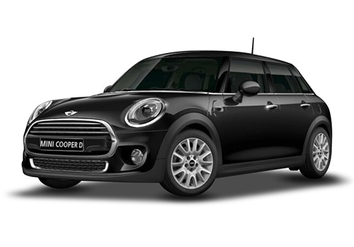 Mini 5 DOOR Midnight Black Metallic Color