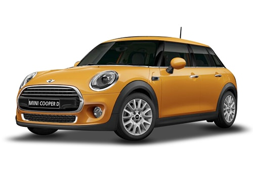 Mini 5 DOOR Volcanic Orange Color
