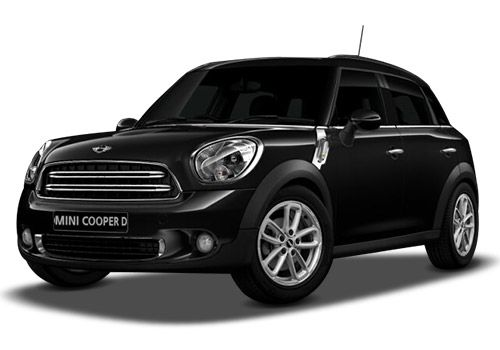 Mini CountrymanAbsolute Black Color