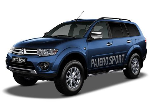 Mitsubishi Pajero Sport Deep Blue Color