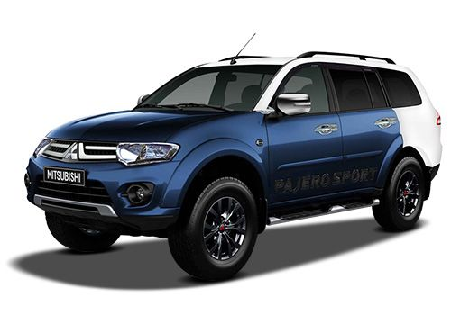 Mitsubishi Pajero Sport Blue / White Color