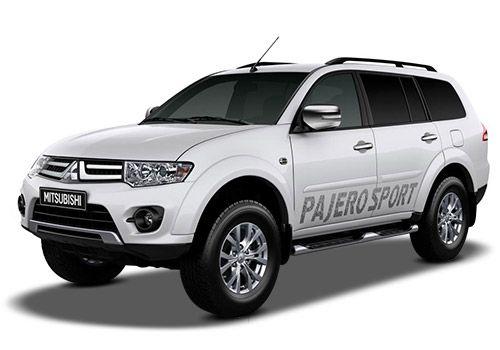 Mitsubishi Pajero Sport Himalayan White Color