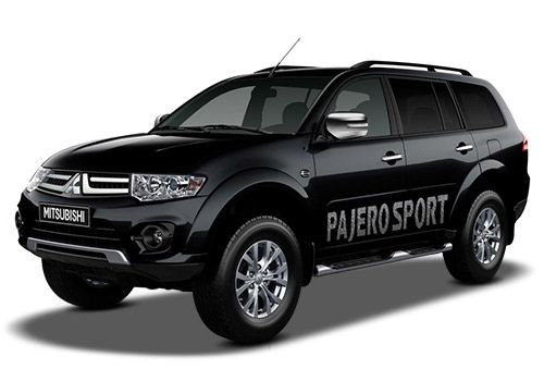 Mitsubishi Pajero Sport Pure Black Color