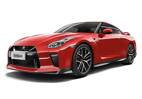 Nissan GT-RVibrant Red Color