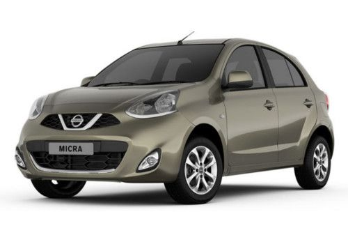 Nissan Micra Olive Green Color
