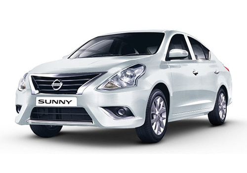 Nissan Sunny Pearl White Color